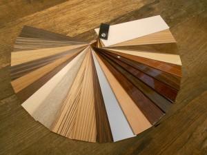 Kleurstelling houten jaloezieen